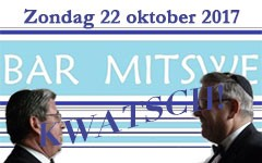 Kwatsch wordt bar mitswa!