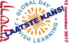 Global Day of Jewish Learning: uw laatste kans voor 2017!