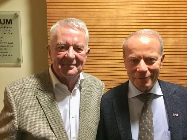 Guus Luijters en Freddy Hollander (CIA)
