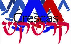 Met Crescas aan de wandel