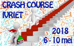 Crash Course 2018: nog enkele plaatsen vrij!