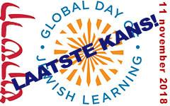 Global Day of Jewish Learning: uw laatste kans voor 2018!