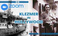 Zoomlezing: Klezmer in Hollywood